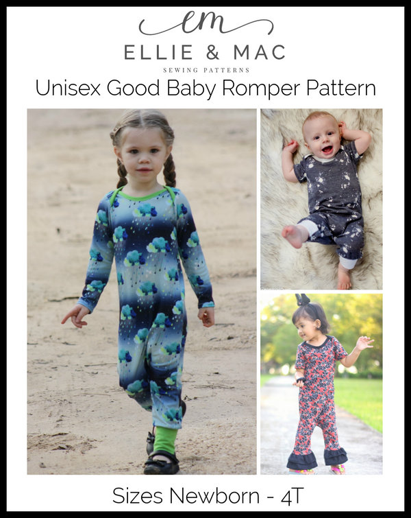 Kid's Good Baby Romper Pattern