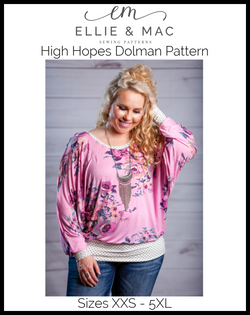 High Hopes Dolman Pattern