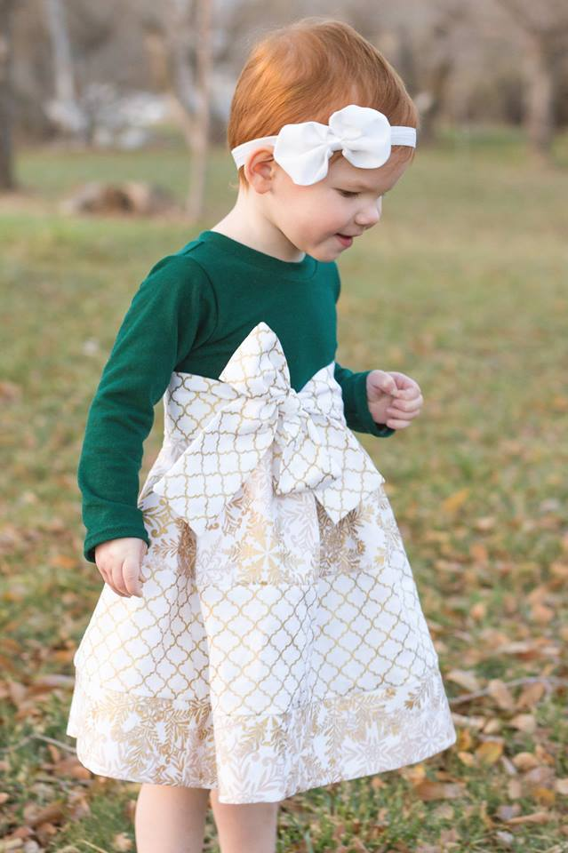 Girl's Emily Dress Pattern - Ellie and Mac, Digital (PDF) Sewing Patterns | USA, Canada, UK, Australia