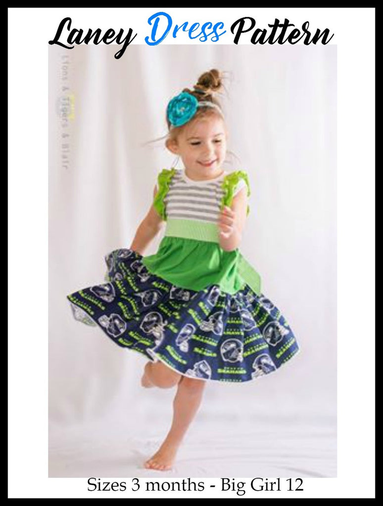 Girls Laney Dress Pattern