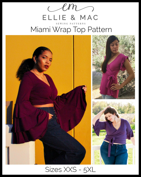 Miami Wrap Top Pattern