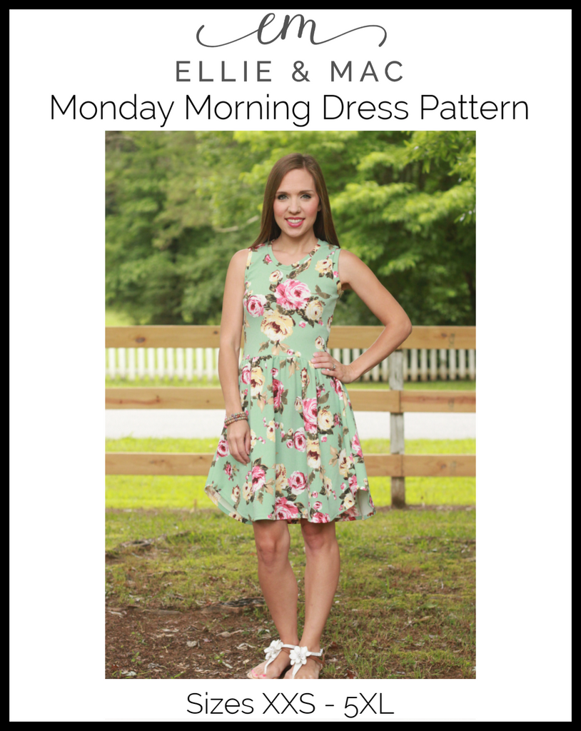 Monday Morning Dress Pattern