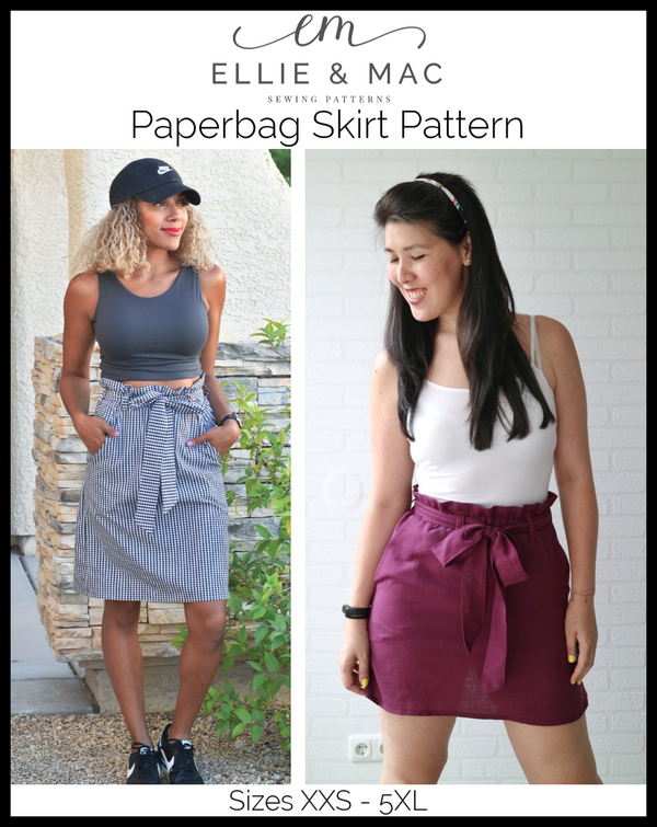 Paperbag Skirt Pattern