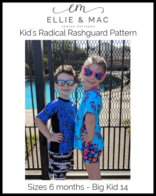 Radical Rashguard Pattern