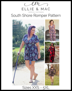 South Shore Romper Pattern (adult's)