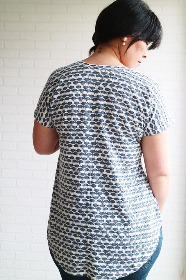 Women's Every Day Tee Pattern - Ellie and Mac, Digital (PDF) Sewing Patterns | USA, Canada, UK, Australia