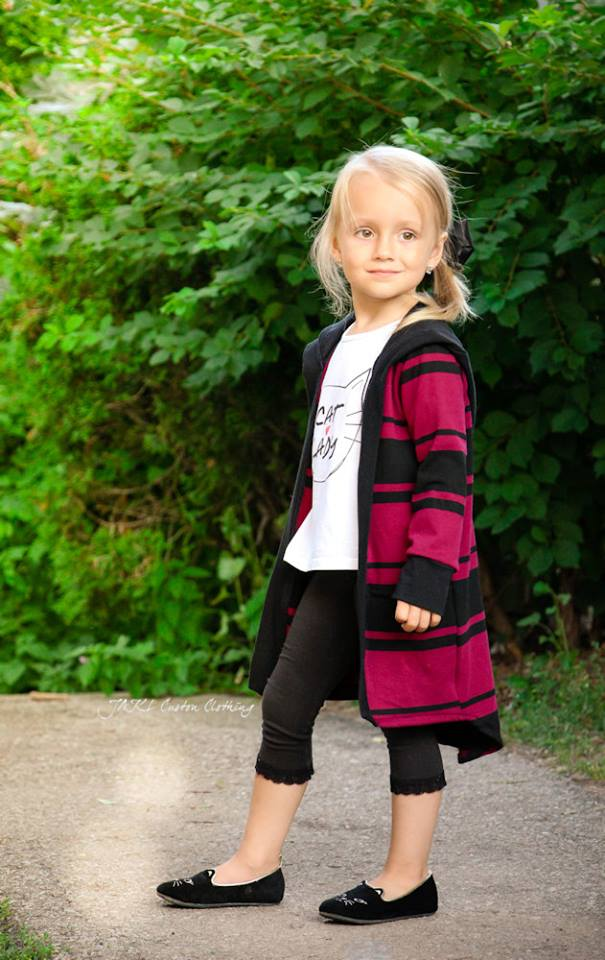 Go Exploring Cardigan Pattern (kid's)