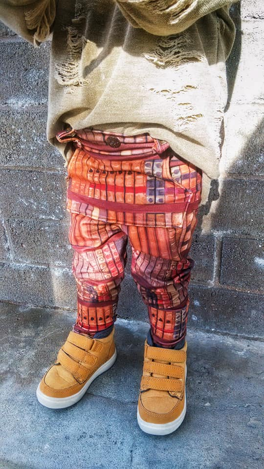 Boy's Fly Pants Pattern