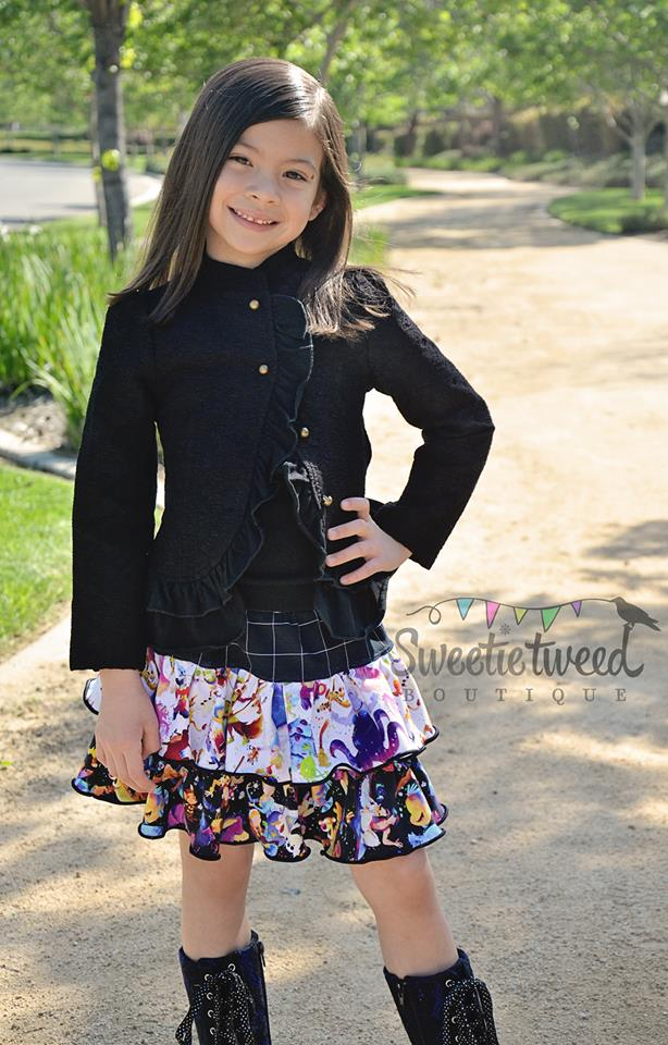 Be Frilly Skirt Pattern - Ellie and Mac, Digital (PDF) Sewing Patterns | USA, Canada, UK, Australia