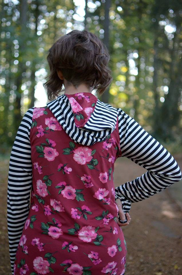Women's Game Time Hoodie Pattern - Ellie and Mac, Digital (PDF) Sewing Patterns | USA, Canada, UK, Australia