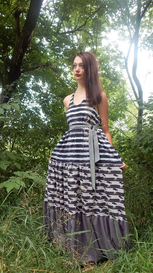Women's Halter Maxi Top & Dress Pattern