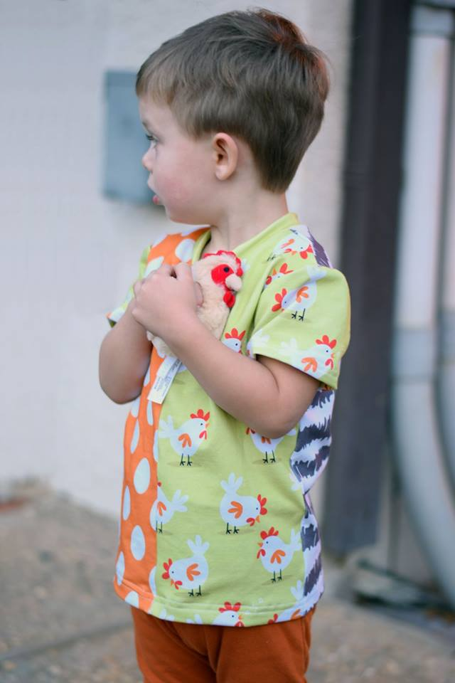 Unisex Half Pipe Tee Pattern - Ellie and Mac, Digital (PDF) Sewing Patterns | USA, Canada, UK, Australia