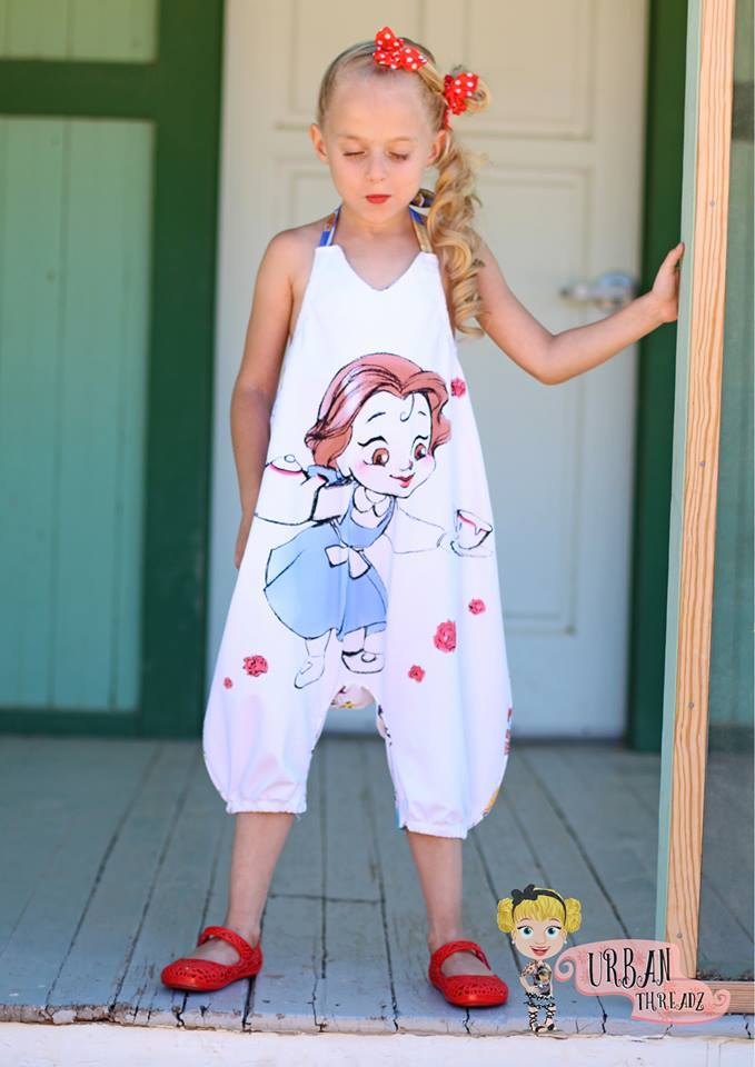 Hip Hop Romper Women and Girl Pattern Bundle Pack