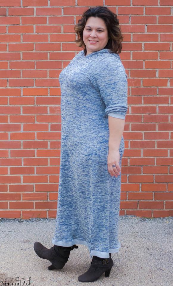 Women's Hipster Dress Pattern