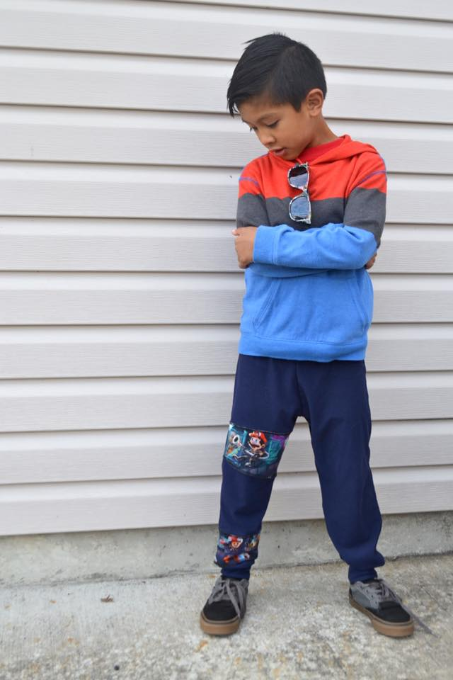 Unisex Kids Joggers Pattern - Ellie and Mac, Digital (PDF) Sewing Patterns | USA, Canada, UK, Australia