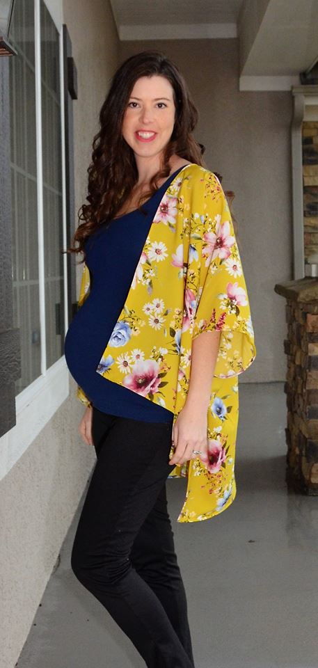 Women's Free Spirit Kimono Pattern - Ellie and Mac, Digital (PDF) Sewing Patterns | USA, Canada, UK, Australia