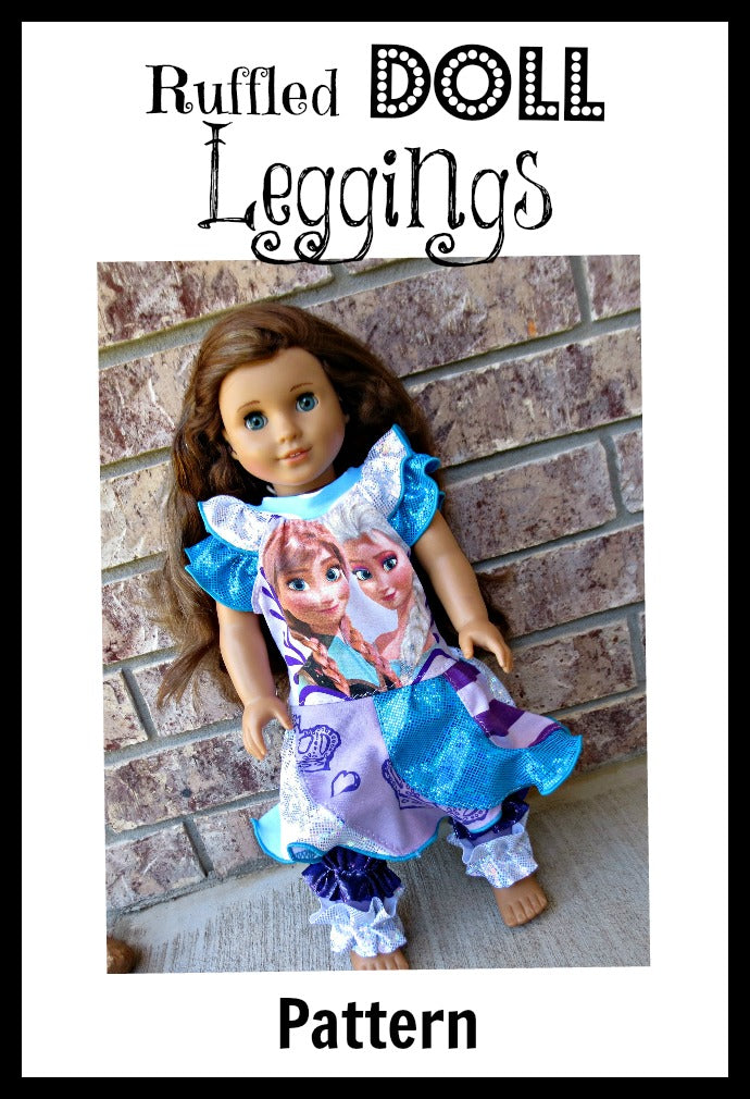 Ruffled Doll Leggings Pattern
