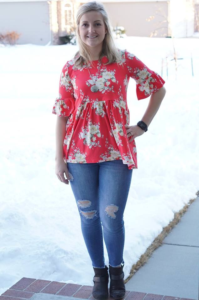 Women's Memphis Top Pattern