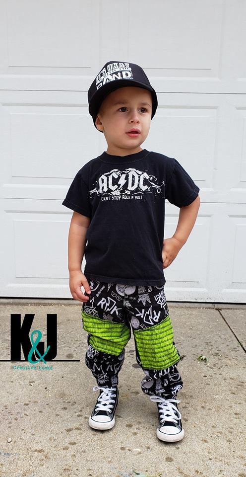 Boys Moto Pants Pattern