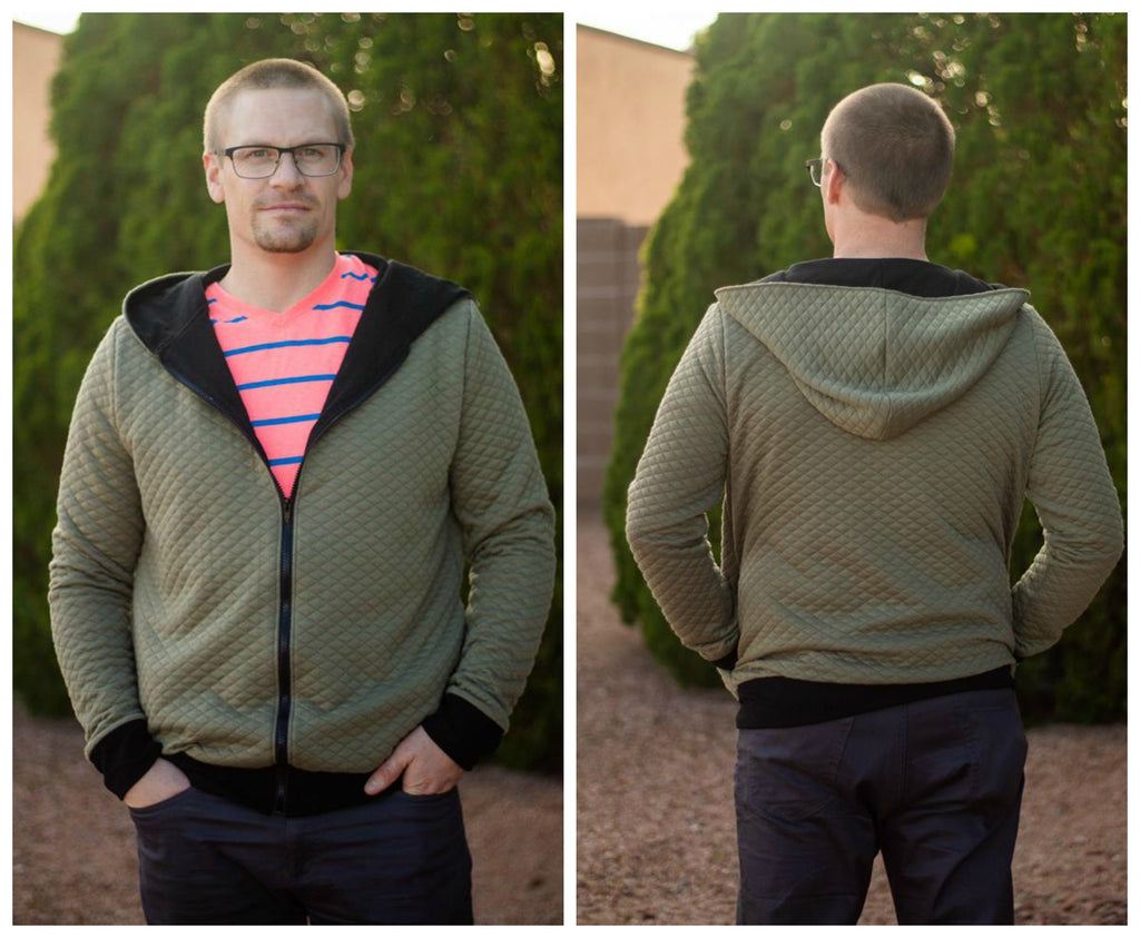 Men's Zip It Jacket Pattern