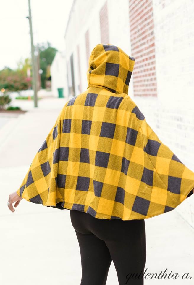 Nightfall Women's Cape Pattern
