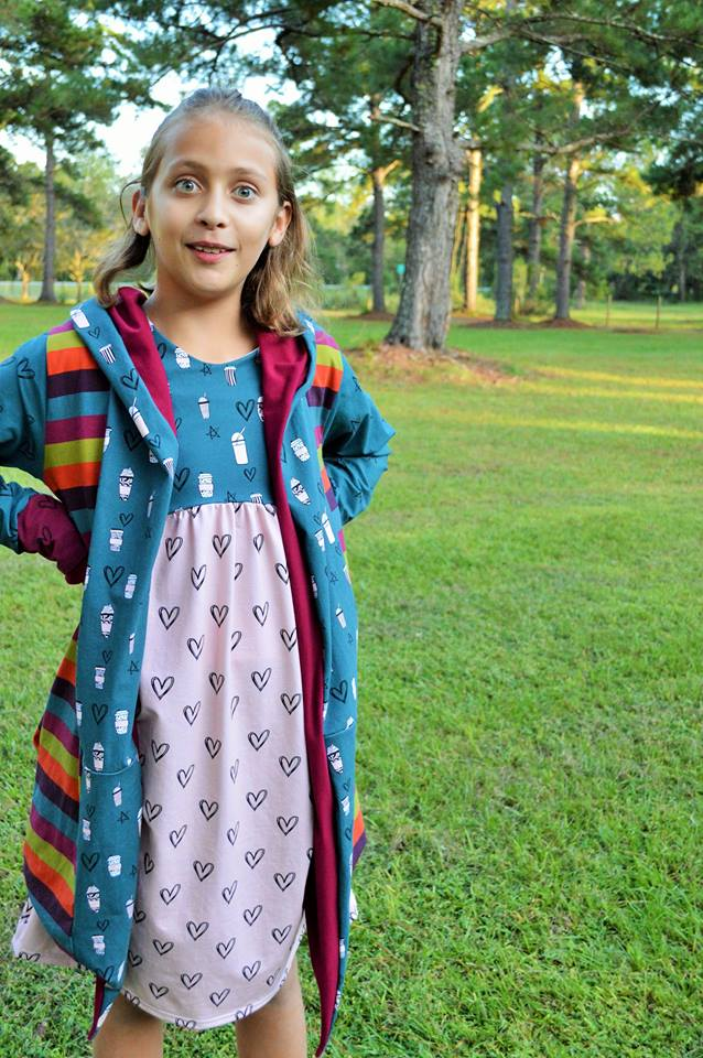 Girl's 90's Dress Pattern - Ellie and Mac, Digital (PDF) Sewing Patterns | USA, Canada, UK, Australia