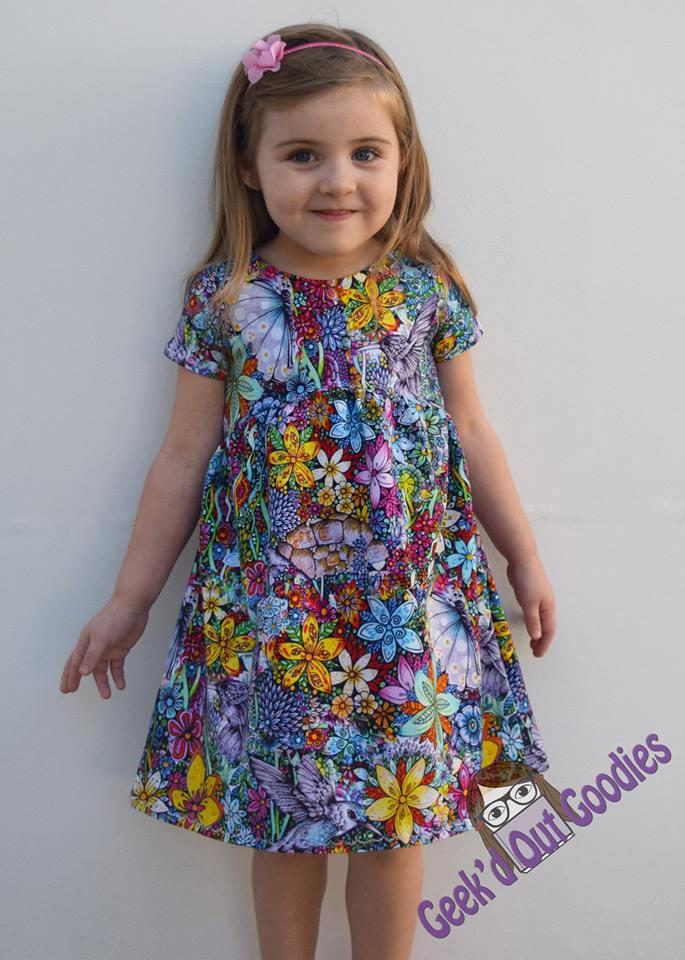 Women & Girl's 90's Dress Pattern Bundle Pack - Ellie and Mac, Digital (PDF) Sewing Patterns | USA, Canada, UK, Australia
