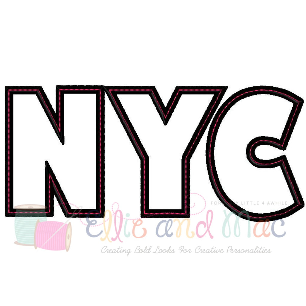 NYC Applique Design