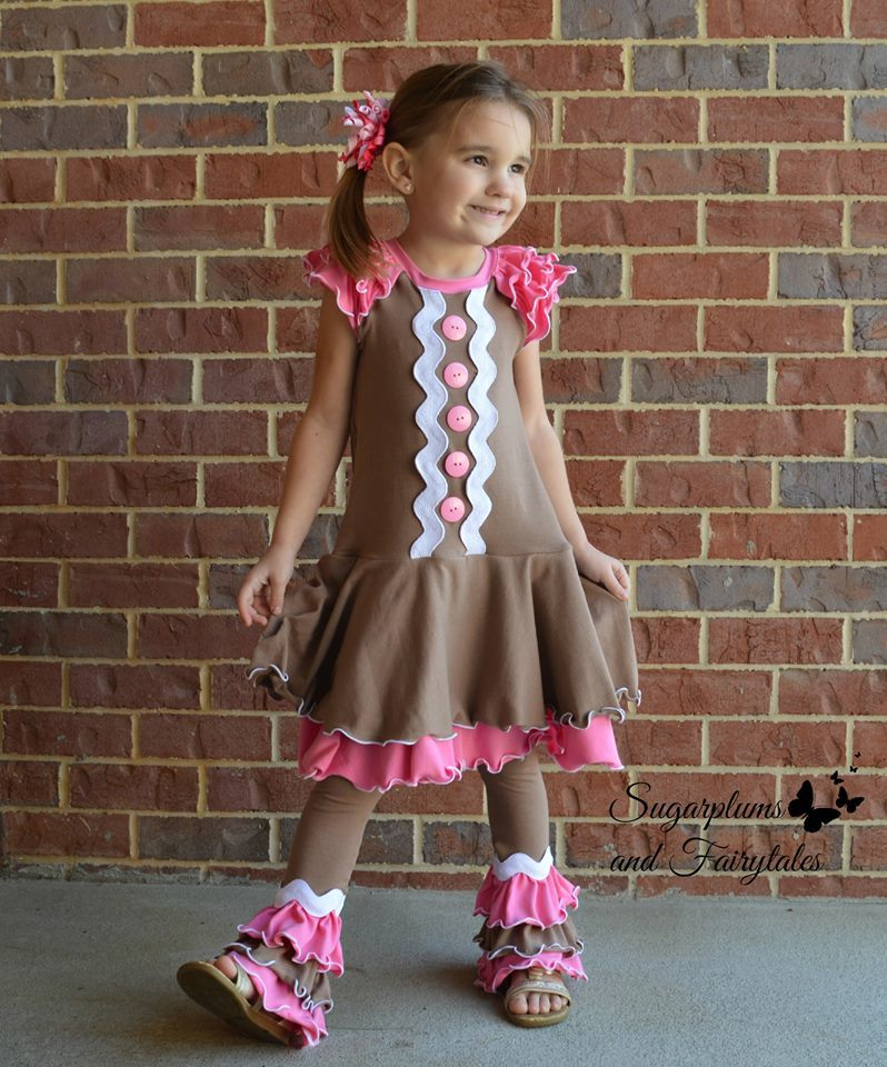 Olivia Stacked Ruffled Pants Pattern