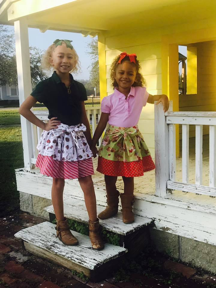 Girl's Party Skirt Pattern - Ellie and Mac, Digital (PDF) Sewing Patterns | USA, Canada, UK, Australia