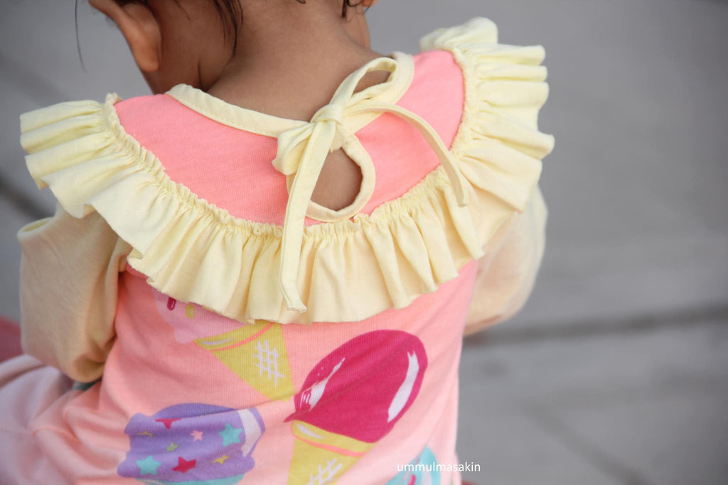 Girl's Peachy Pie Dress Pattern - Ellie and Mac, Digital (PDF) Sewing Patterns | USA, Canada, UK, Australia