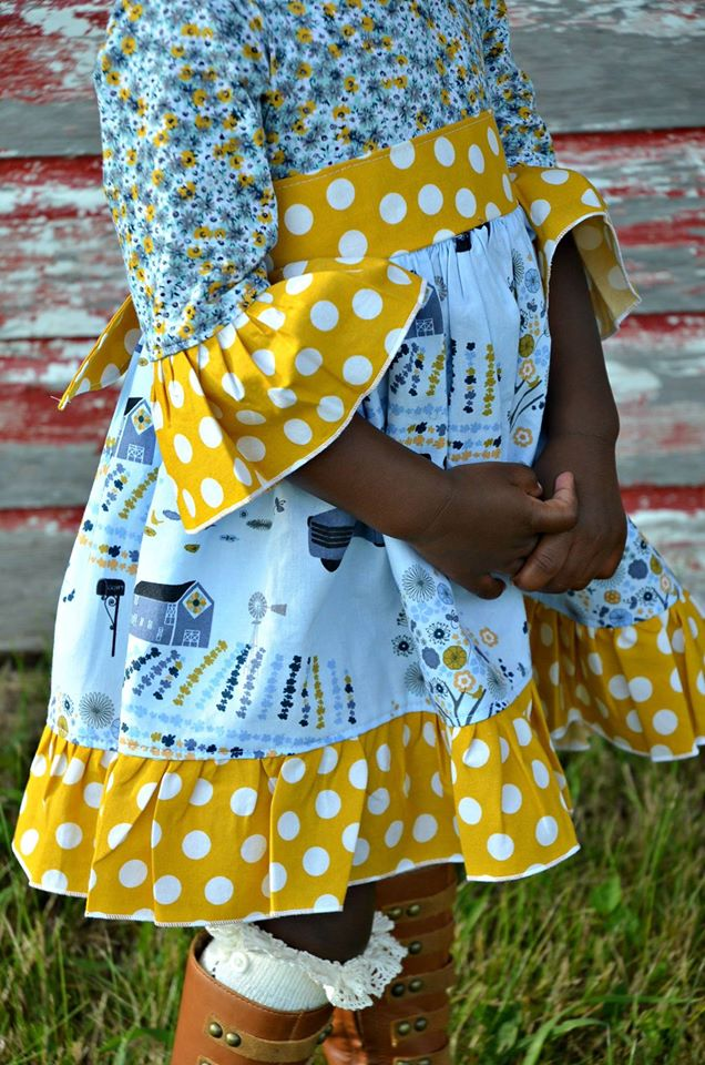 Girls Play Date Dress Pattern
