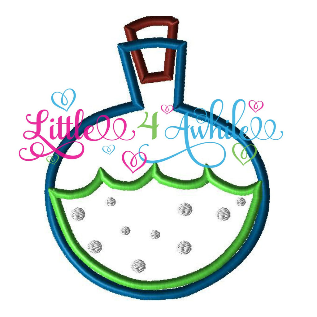 Magic Bubbling Potion Applique Embroidery Design