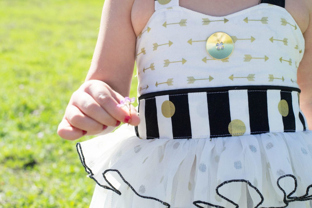 Girls Reagan Halter Swing Top Pattern