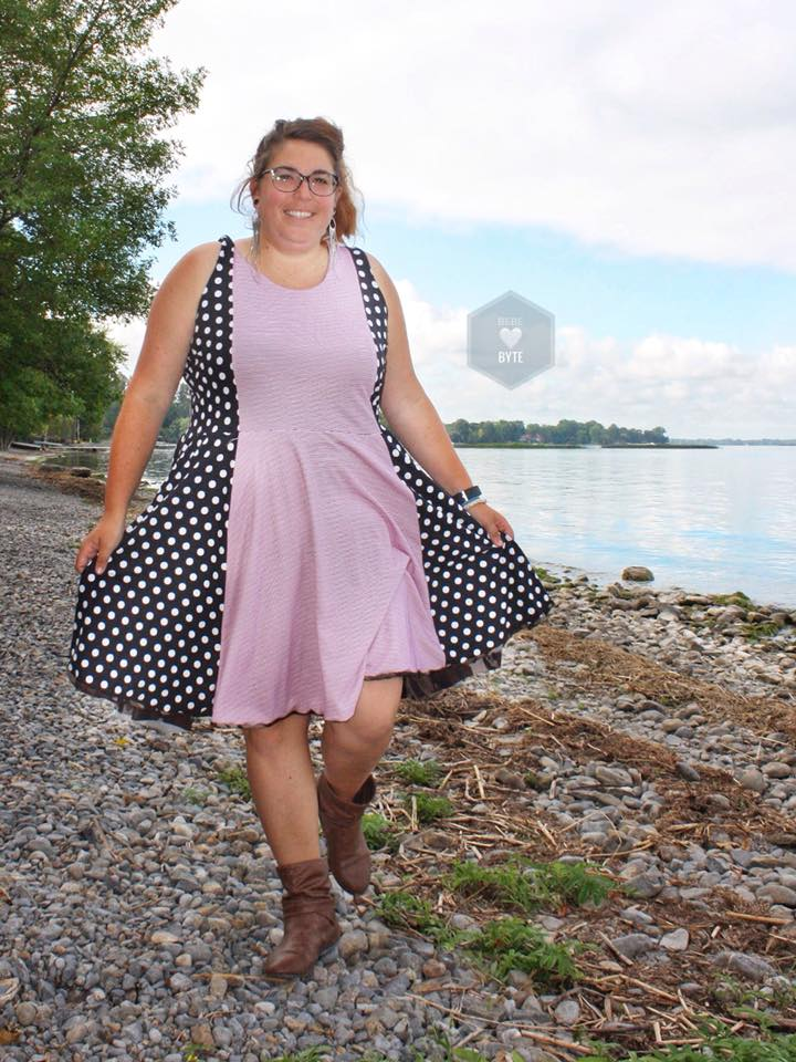 Women's Reversible Dress Pattern