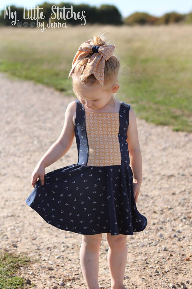 Sailor Dress & Peplum Pattern