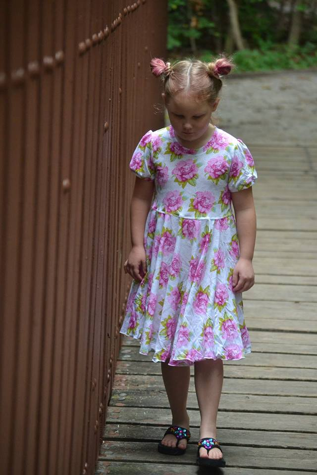 Girl's School Cool Tunic & Dress Pattern - Ellie and Mac, Digital (PDF) Sewing Patterns | USA, Canada, UK, Australia