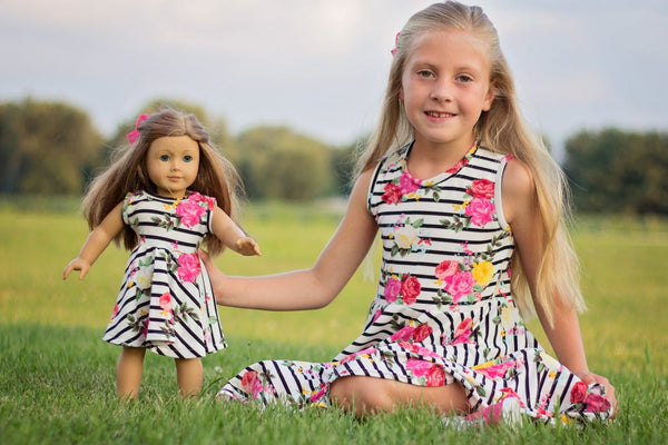 School Cool Doll Pattern - Ellie and Mac, Digital (PDF) Sewing Patterns | USA, Canada, UK, Australia