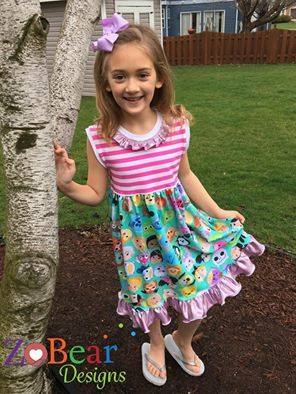 Simply Sweet Tunic & Dress Pattern