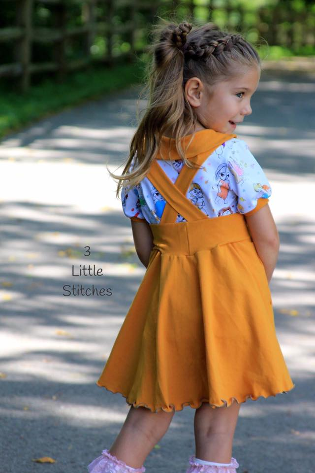 Sitting Pretty Collar Top Pattern - Ellie and Mac, Digital (PDF) Sewing Patterns | USA, Canada, UK, Australia