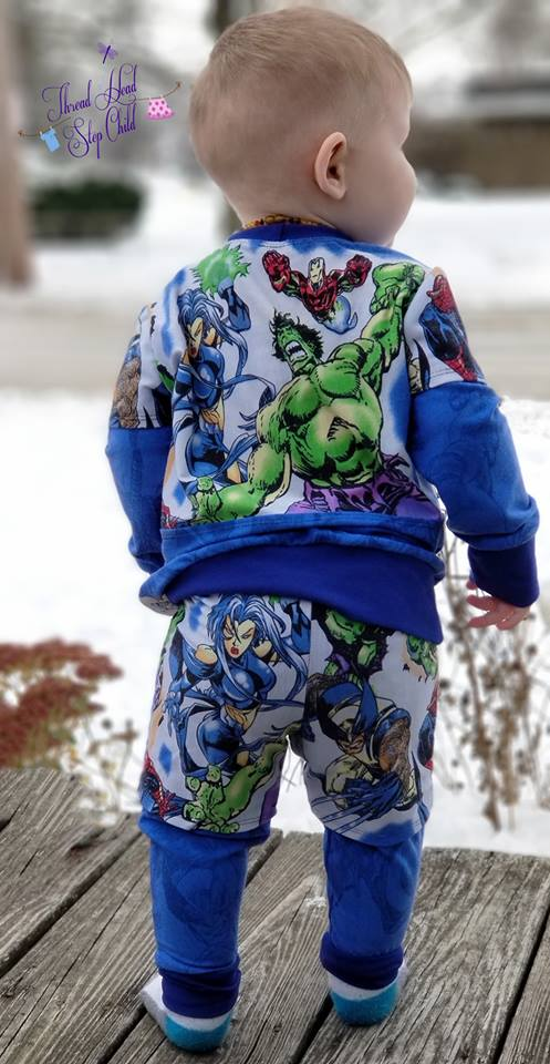 Boy's Sunday Morning Sweats Pattern
