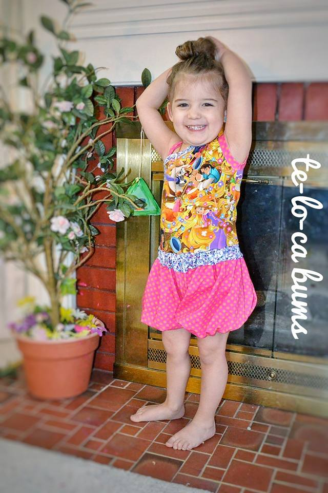 Girl's Sunshine Romper Pattern