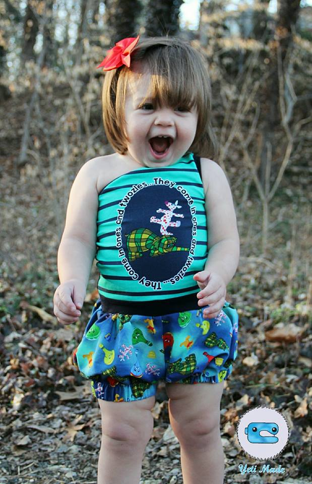 Details about  /Mimi and Maggie Sunshine Rainbow Embroidery Romper