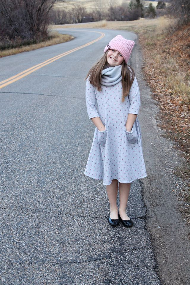 Girl's Sweetie Tunic & Dress Pattern - Ellie and Mac, Digital (PDF) Sewing Patterns | USA, Canada, UK, Australia