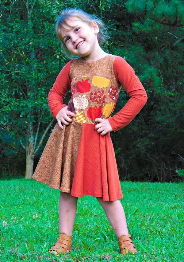 Take Me To Tea Dress Pattern - Ellie and Mac, Digital (PDF) Sewing Patterns | USA, Canada, UK, Australia