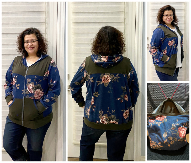 Adult Transformer Jacket Bag Pattern