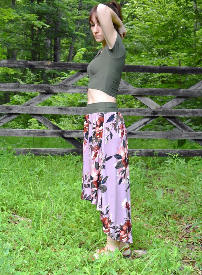 Women's Trendsetter Skirt Pattern Wacky - Ellie and Mac, Digital (PDF) Sewing Patterns | USA, Canada, UK, Australia
