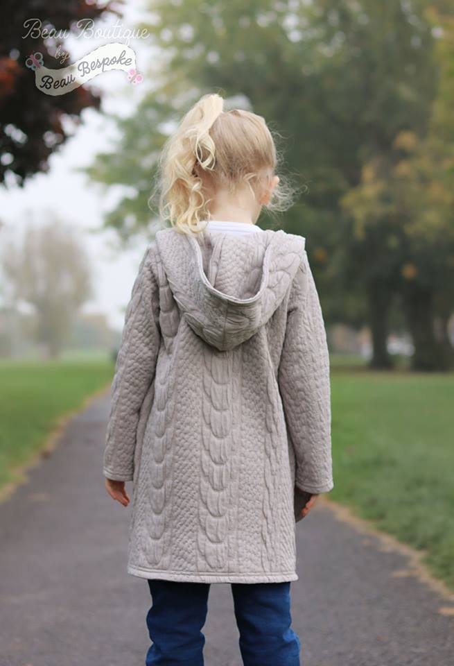 Girl's True Crush Cardigan Pattern