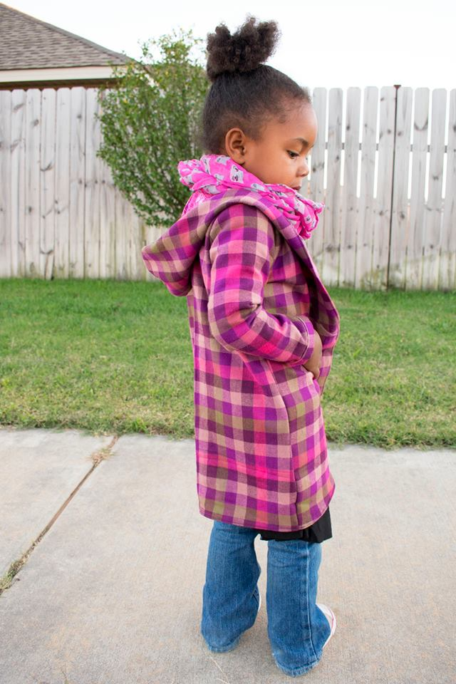 Girl's True Crush Cardigan Pattern - Ellie and Mac, Digital (PDF) Sewing Patterns | USA, Canada, UK, Australia