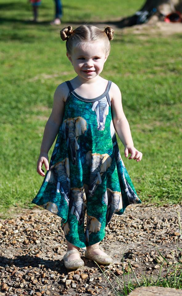 Women & Girl Vacation Romper Bundle - Ellie and Mac, Digital (PDF) Sewing Patterns | USA, Canada, UK, Australia